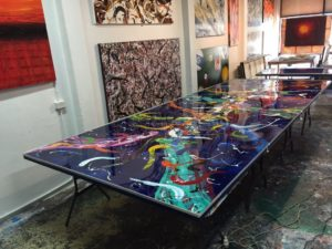 epoxy artwork
